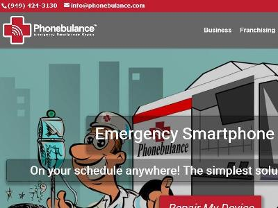 The new face of phonebulance website